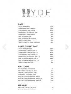 hyde-beach-miami-bottle-menu