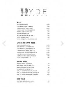 hyde-beach-miami-bottle-menu